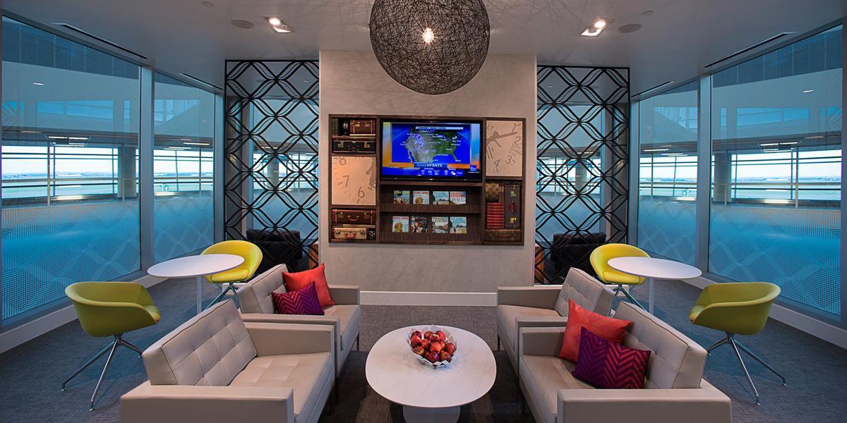 American Experess Centurion Lounge at DFW
